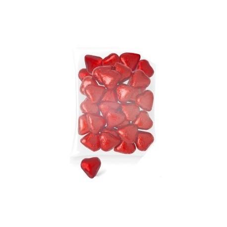 Coeurs en chocolat (140 Bolsa-Unis.)