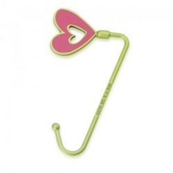 Crochets sac à main metal Coeur Agatha