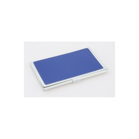 Porte- cartes métal / similicuir