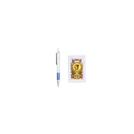 Jeu de cartes espagnol + stylo