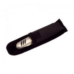 Couteau en acier inoxydable avec 9 accessoires