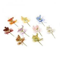Piquet Bouquet de fleurs de 14 cm