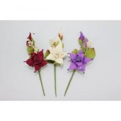 Grandes Bouquet de fleurs Pic 15 cm