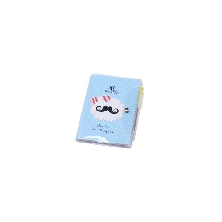 "Notes Cahiers PVC ""Moustache"""